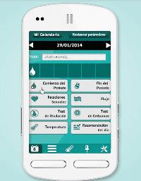 'Quédate embarazada', la calculadora de ovulación para móviles, alcanza las 10.000 descargas